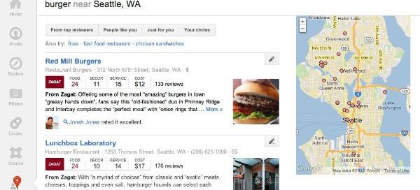 Google+ local : La recommandation sociale débarque