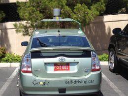 Google : Voiture à pilotage automatique