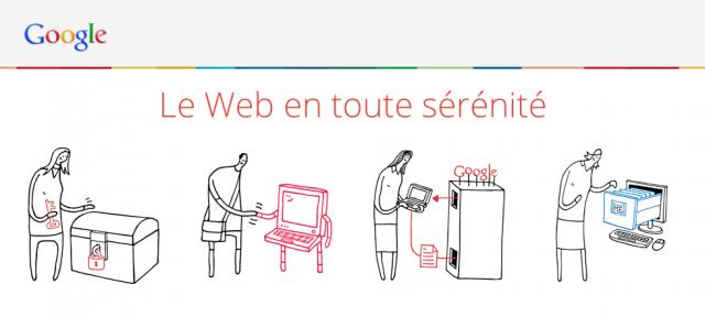 Google : Le web en toute sérénité