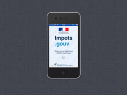 Application mobile Impots.gouv