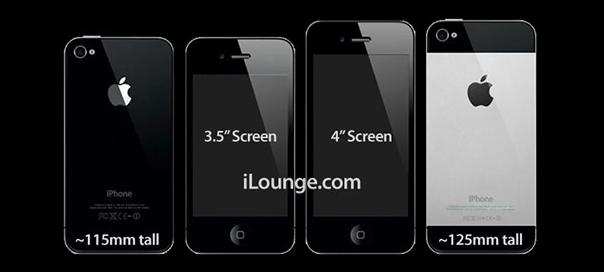 iPhone 5 de 4 pouces