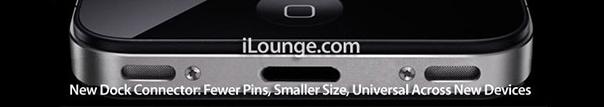 iPhone 5 : Nouveau connecteur