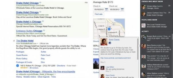 Bing : Recherche sociale avec Facebook et Twitter