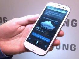 S-Voice sur Samsung Galaxy S III