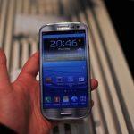Samsung Galaxy S III bleu