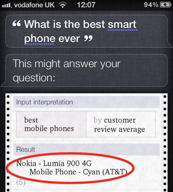 Siri, quel est le meilleur smartphone ?