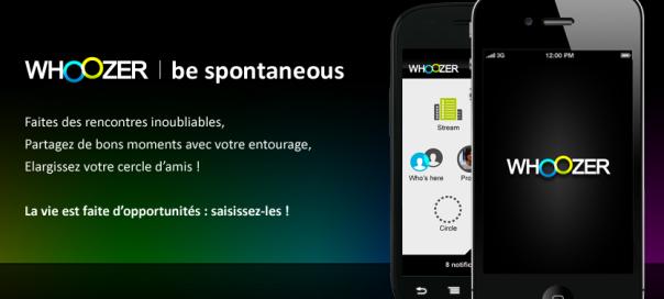 Whoozer : Personnes et activités à proximité de vous