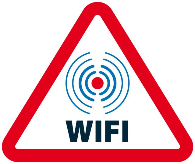 Panneau WiFi
