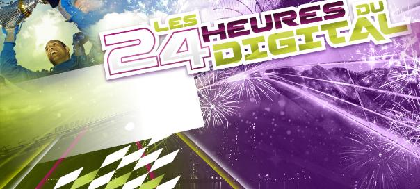 Les 24 heures du digital au Mans