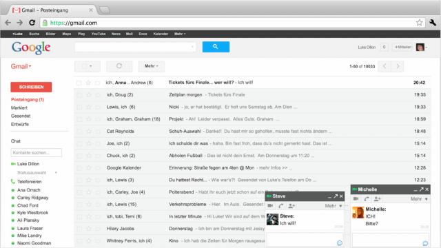 Gmail en Allemagne