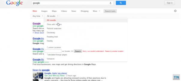 Google : Nouvelle interface utilisateur en test (juin 2012)