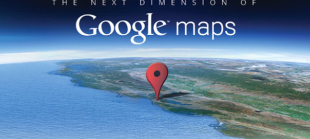 Google Maps : La prochaine dimension… 3D ?