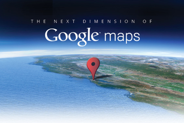 Google Maps : La prochaine dimension