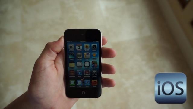 iPhone : iOS 6