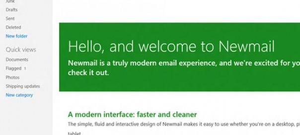 Newmail : Le Hotmail au format Metro