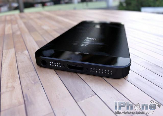 Nouvel iPhone : Vue par dessous