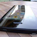 Nouvel iPhone : Vue dessus allumé