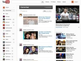 YouTube : Nouvelle interface