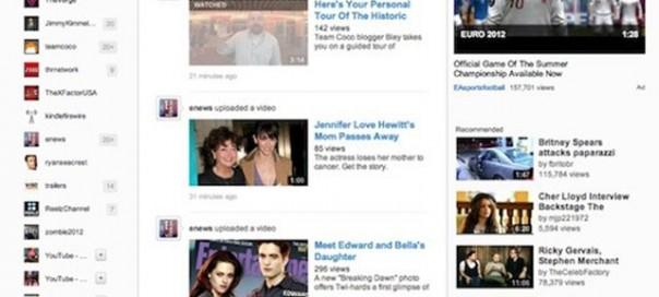 YouTube : Une nouvelle interface pour bientôt ?