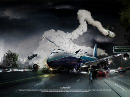 Photoshop : Crash d'avion