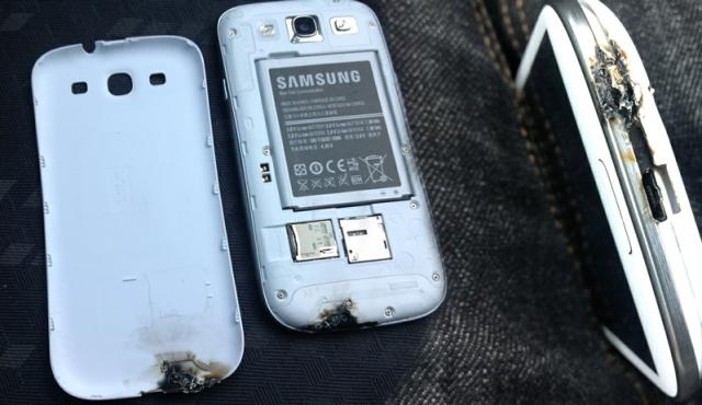Samsung Galaxy S 3 : Feu