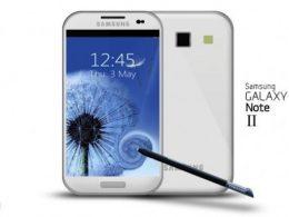 Concept Samsung Galaxy Note II