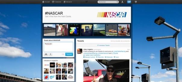 Twitter : Lancement des pages Hashtags