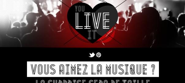 You Live it : Application Facebook dédiée aux événements live