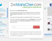 2xMoinsCher : Tests avant ouverture pour le site marchand
