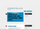 2xMoinsCher : Ouverture d'un blog collaboratif