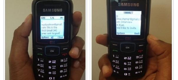 Gmail SMS : Disponibilité du service en mode SMS