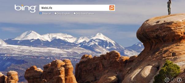 Bing : Nouvelle interface utilisateur pour le moteur