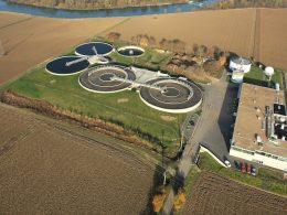 Centre de traitement des eaux usées