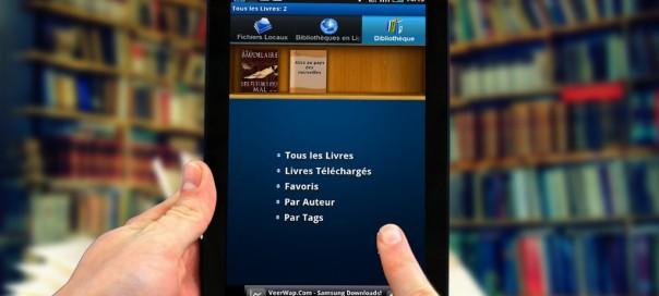 Ebooks : Librairie numérique française dans le cloud