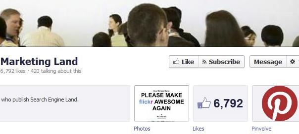 Facebook : Bouton s'abonner pour page entreprise
