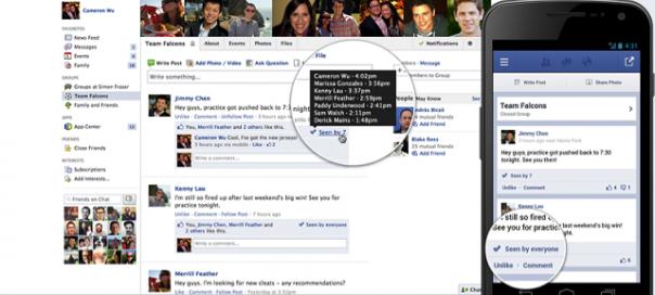 Groupe Facebook : Sachez qui lit vos publications