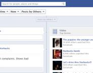 Facebook : Vidéo & actualités populaires de pages