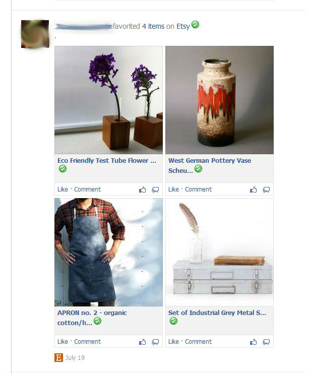 Facebook : Design Pinterest