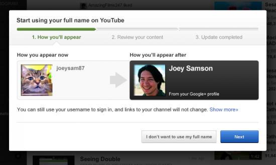 YouTube : Commentaires publiques