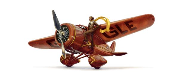 Google : L'aviatrice Amelia Earhart en doodle