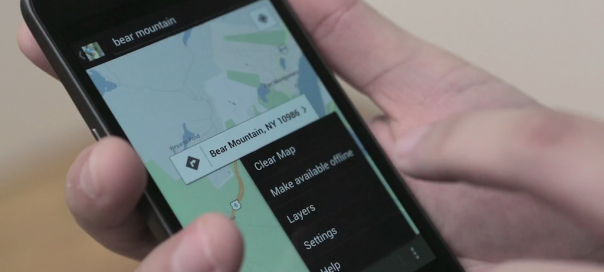 Google Maps : Cartes offline via l'application Android