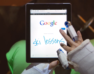 Google : Ecriture manuscrite pour la version mobile