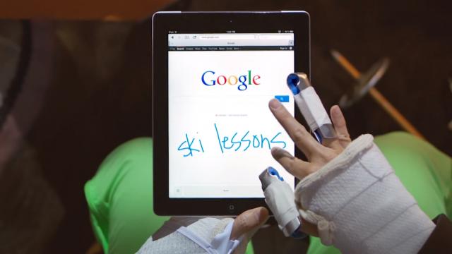 Google Mobile : Reconnaissance de caractères