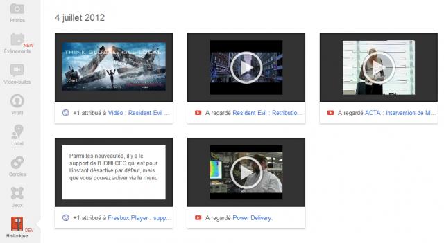 Google Plus : Historique