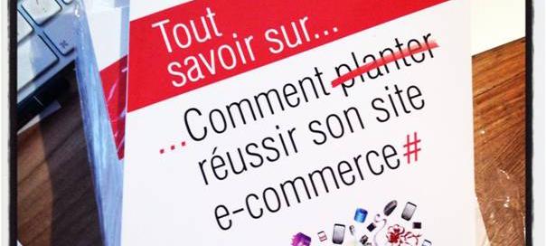 Concours : Comment (planter) réussir son site e-commerce