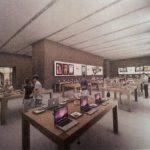 Apple Store Strasbourg : Décoration intérieure