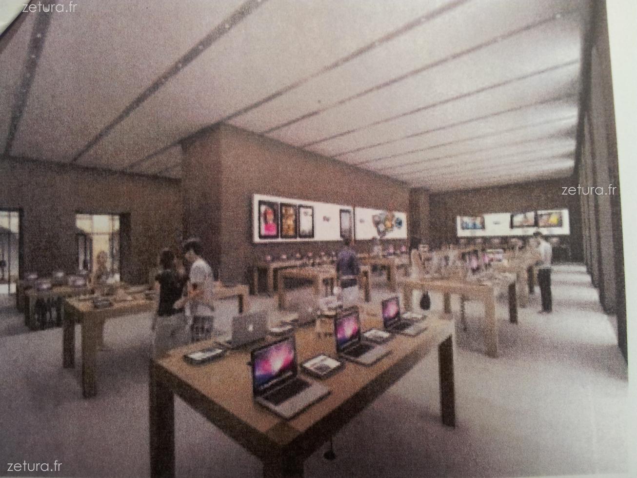apple store strasbourg ouverture de la boutique kl ber weblife. Black Bedroom Furniture Sets. Home Design Ideas