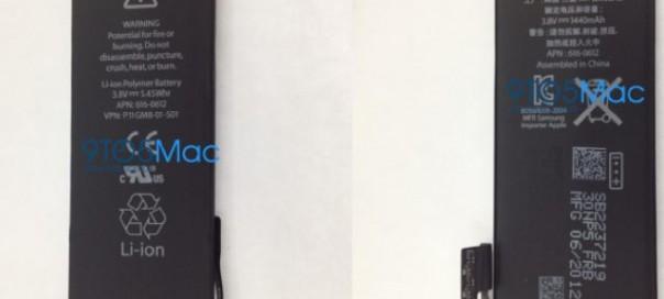 iPhone 5 : Les photos de la batterie dévoilées