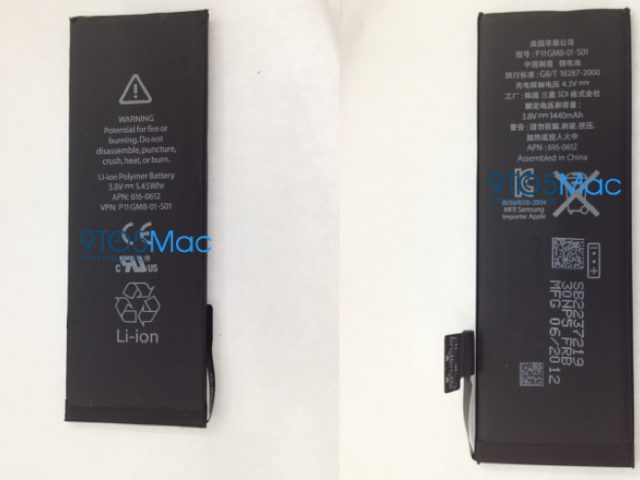 Batterie iPhone 5