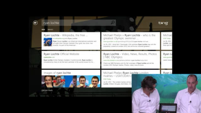Bing : Application Windows 8